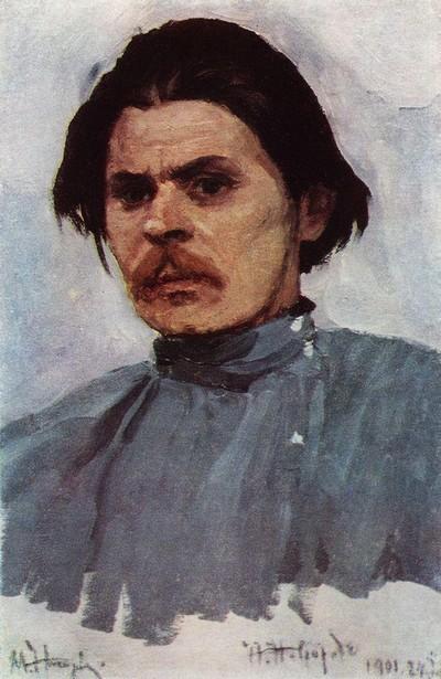 Портрет Максима Грького