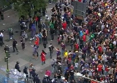 Забастовка врачей Мадрида