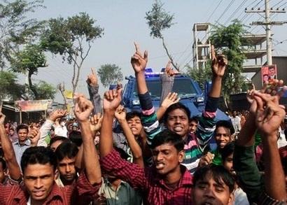 антиисламисткий митинг, БАнгладеш