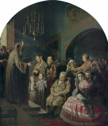 Проповедь на селе