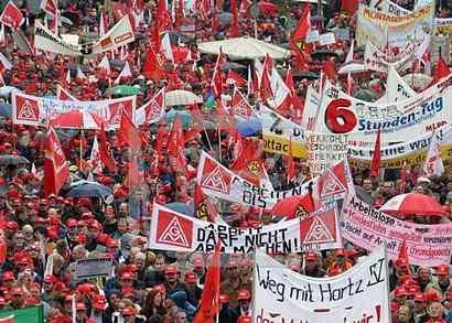 профсоюзы германии