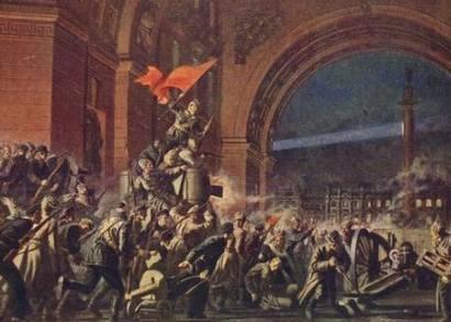 Великий Октябрь, дни революции